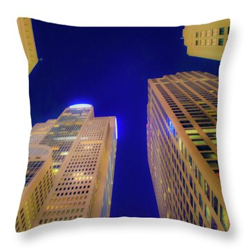 City Night Throw Pillow
