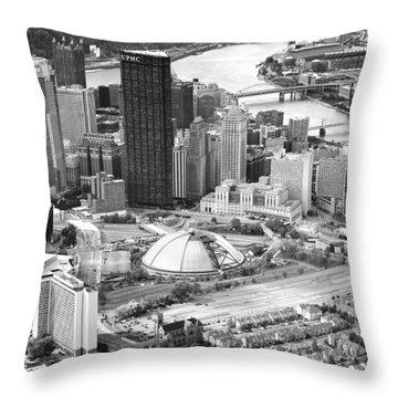 City Of Champions Throw Pillow by Emmanuel Panagiotakis