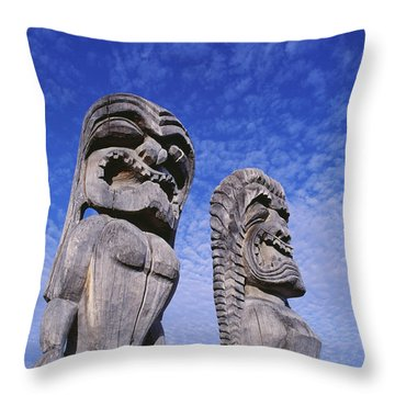 City Of Refuge Kii Throw Pillow by Greg Vaughn - Printscapes