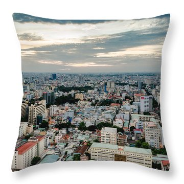 City On High Throw Pillow