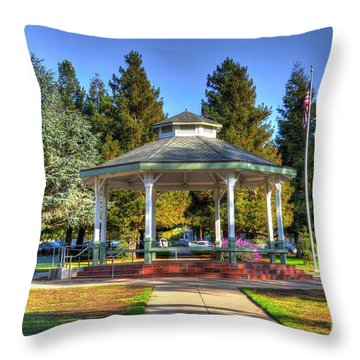 City Park Throw Pillow