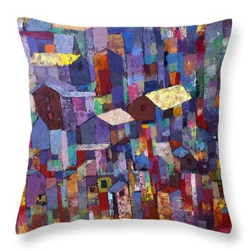 City Scape 1 Throw Pillow