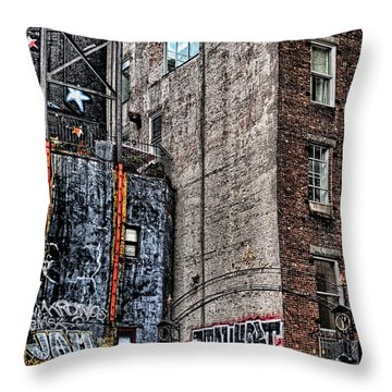 City Scenes Nyc Throw Pillow by Steve Archbold