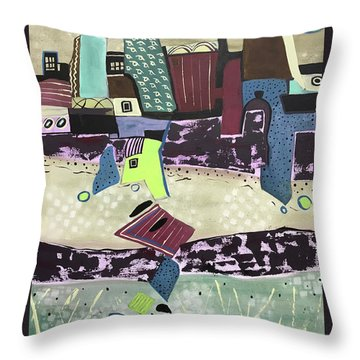 City Seranade Throw Pillow