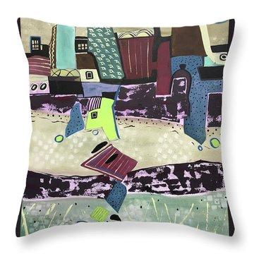 City Seranade Throw Pillow