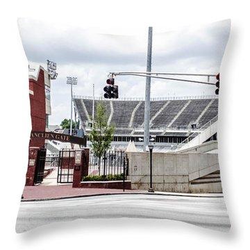 City Stadium Throw Pillow