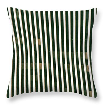 City Stripes Throw Pillow