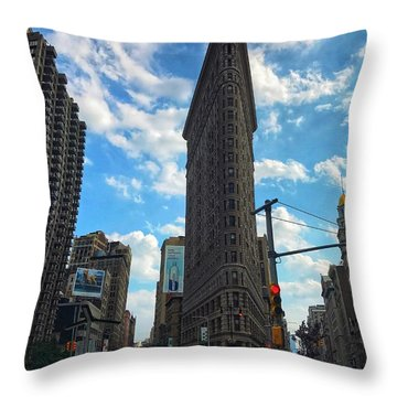 City Walk  Throw Pillow