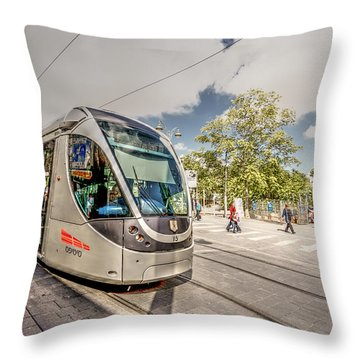 Citypass Throw Pillow