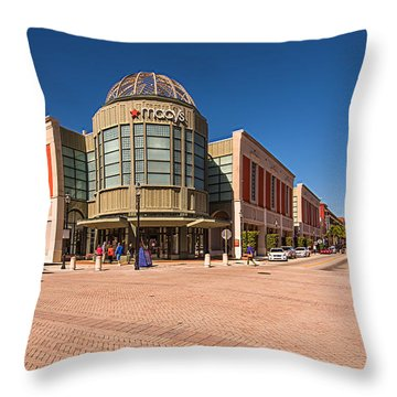Cityplace Throw Pillow