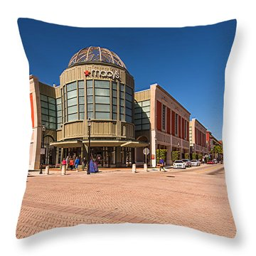 Cityplace Throw Pillow