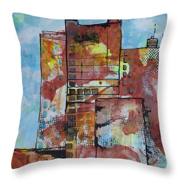 Cityscape 230 Throw Pillow