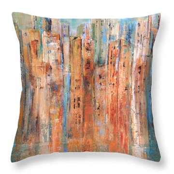 Cityscape #3 Throw Pillow