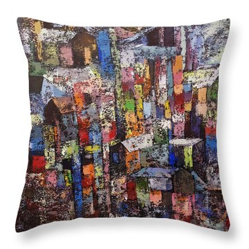 Cityscape2 Throw Pillow