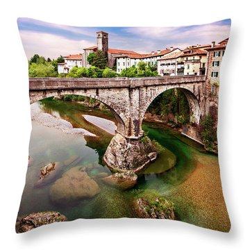 Cividale Del Friuli - Italy Throw Pillow
