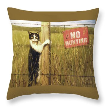 Civil Disobediance Throw Pillow