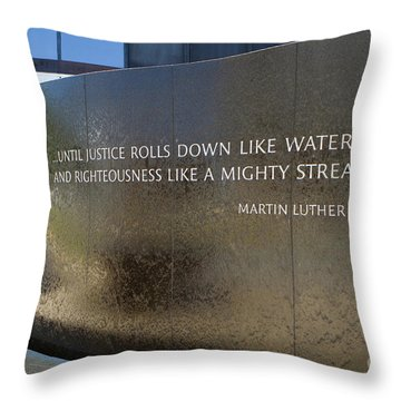 Civil Rights Memorial Throw Pillow
