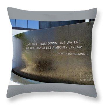 Civil Rights Memorial Throw Pillow