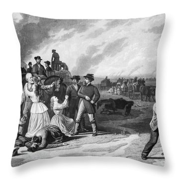 Civil War: Martial Law Throw Pillow by Granger