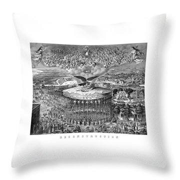 Civil War Reconstruction Throw Pillow by War Is Hell Store