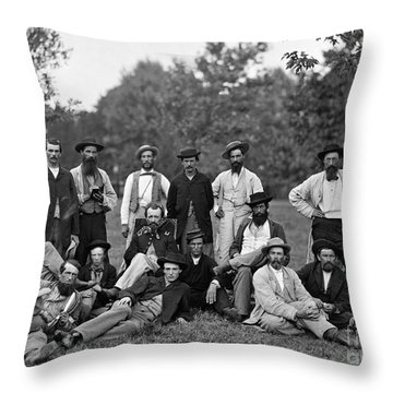Civil War: Scouts & Guides Throw Pillow by Granger
