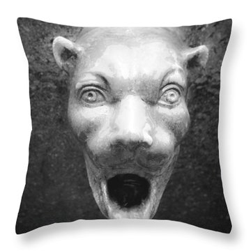 Civit Head Detail Throw Pillow