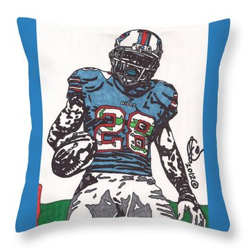 Cj Spiller 1 Throw Pillow
