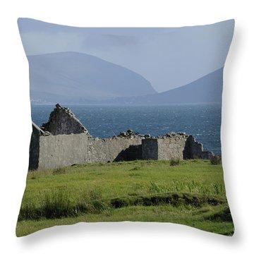 Claggan Island Throw Pillow