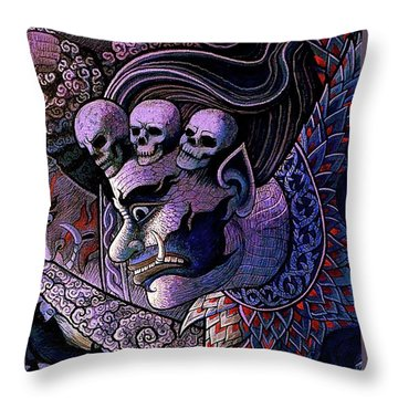 Claiming Lost Souls  Throw Pillow