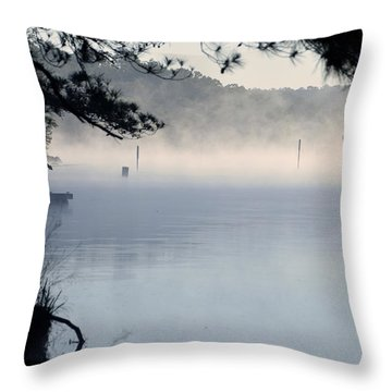 Calm Day Throw Pillow