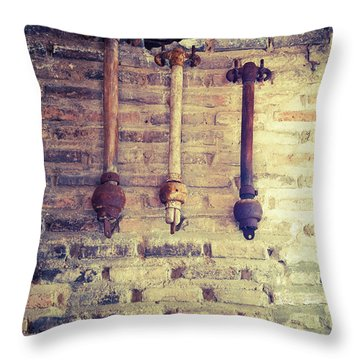 Clappers Throw Pillow