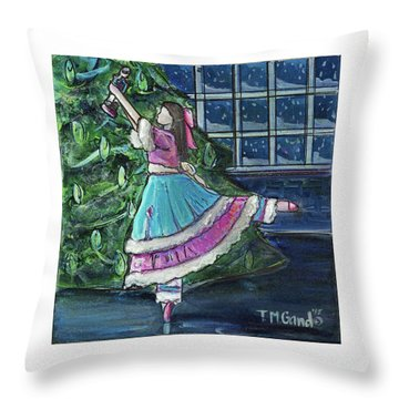 Clara II Throw Pillow