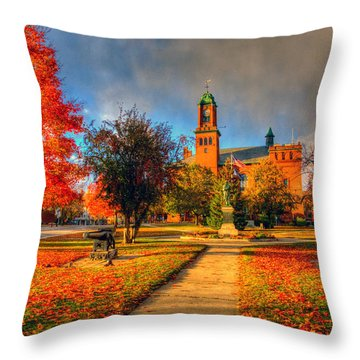 Claremont Center 234 Throw Pillow