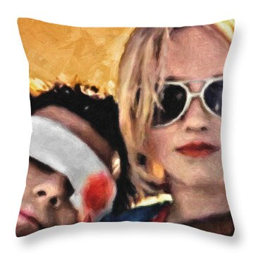 Val Kilmer Throw Pillows