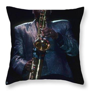 Clarence Clemons Throw Pillow