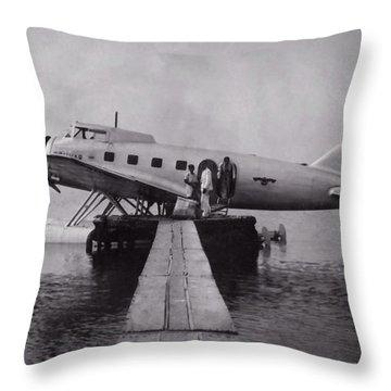 Clark Ga-43 Throw Pillow
