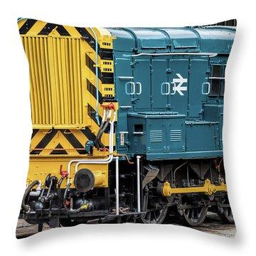 Class 08 Shunter Throw Pillow