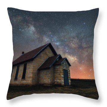 Throw Pillow featuring the photograph Class Of 1886 by Darren White
