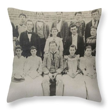 Class Of 1894  Throw Pillow