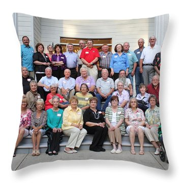 Class Of 1965 Greensboro High School Throw Pillow