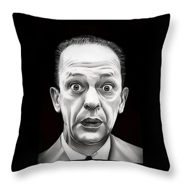 Classic Barney Fife Throw Pillow