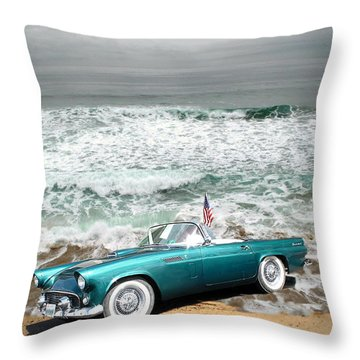 Classic Beauty At Asilomar Throw Pillow by Joyce Dickens