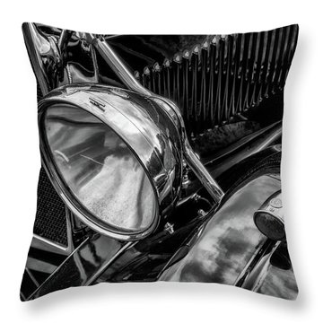 Throw Pillow featuring the photograph Classic Britsh Mg by Adrian Evans