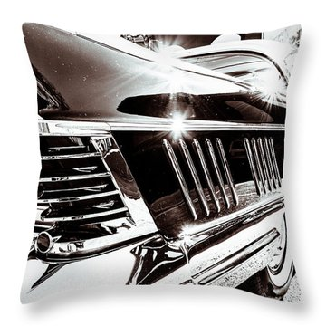 Classic Buick IIi Throw Pillow by Wade Brooks