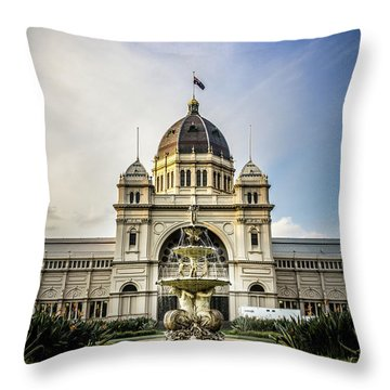 Throw Pillow featuring the photograph Classic Buld by Perry Webster