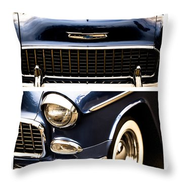 Throw Pillow featuring the photograph Classic Duo 4 by Ryan Weddle