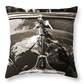 Classic Car Detail - Dodge 1948 Throw Pillow