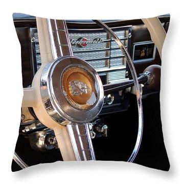 Classic Cars Throw Pillow by Allen Beilschmidt