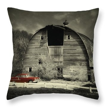 Throw Pillow featuring the photograph Classic Chevrolet  by Julie Hamilton