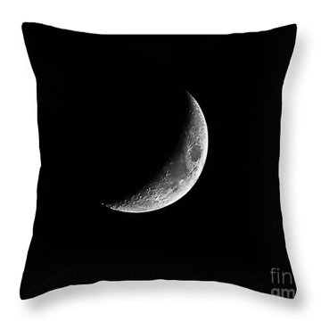 Classic Crescent Cropped Throw Pillow